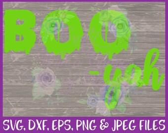 Halloween SVG, Ghost SVG, Boo SVG, Halloween Shirt Svg, Spooky Svg, Baby Svg, Trick or Treat Svg, Fall Svg, Dxf Eps Png Jpg Digital Download
