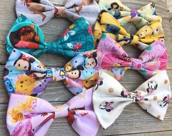 HOT DEAL || Disney character HairBows set of 8