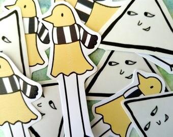 Oyasumi Punpun handmade stickers