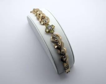 Vintage Sarah Coventry Rhinestone Bracelet.  Very Pretty!
