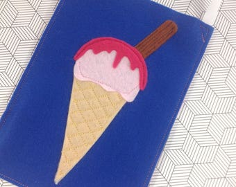 Ice cream cone children's party loot goodie favour bag - made to order