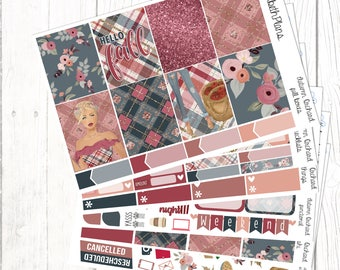 Autumn Orchard | Autumn, Fashion, Fall, Girl, Planner Stickers, FULL KIT