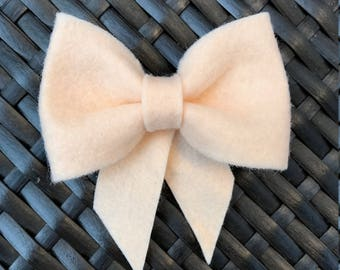 The Elle - baby girl bow - sailor bow - school girl bow - baby headband - toddler hair clip - toddler bow - baby shower gift - baby gift