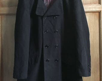 """Original Vintage Official """"The Who"""" Limited Edition Lambretta Pure Wool Mens Overcoat Size XL- Great for Autumn/Winter 2017/2018"""