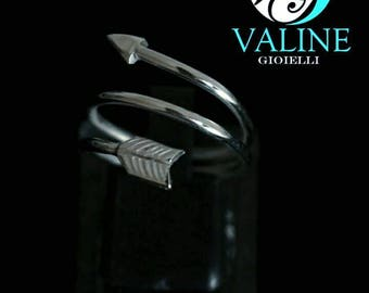 Arrow ring Silver 925
