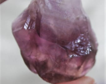 Banded Amethyst points