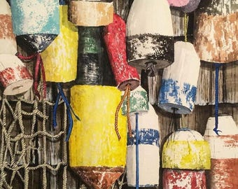 Netted Buoys