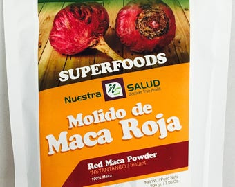 Organic Red Maca Powder 200g
