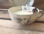 Vintage coffee cup vegeta...
