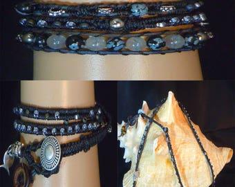 Triple Wrap 124 Bracelet