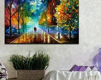 Wall Landscape Oil Painting By Numbers Decoration Pictures Canvas Oil Painting Coloring By Number Acrylic Paint Numbers Painting DIY Craft