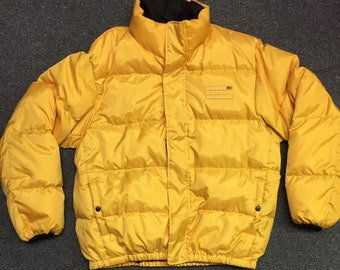 Vintage Polo Jeans Puffer Jacket
