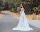 Short Sleeve Maternity Dress for Photo Shoot-Maternity Gown-Long Maternity Gown-Maxi Gown-Baby Shower Dress-Flowy Dress-LANA DRESS