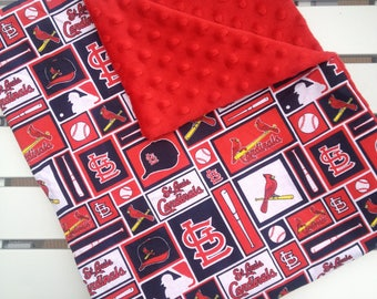 Last minute gift ready to ship personalized baby blanket last minute gifts christmas st louis cardinals personalized baby blanket baby negle Gallery