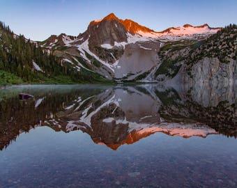 Colorado Photography - Sunrise Photo - Snowmass - Aspen Colorado - Mountains - Lakes - Wall Art - Canvas and Print - Landscape Photography