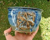 Dragonfly Bowl in Vivid B...