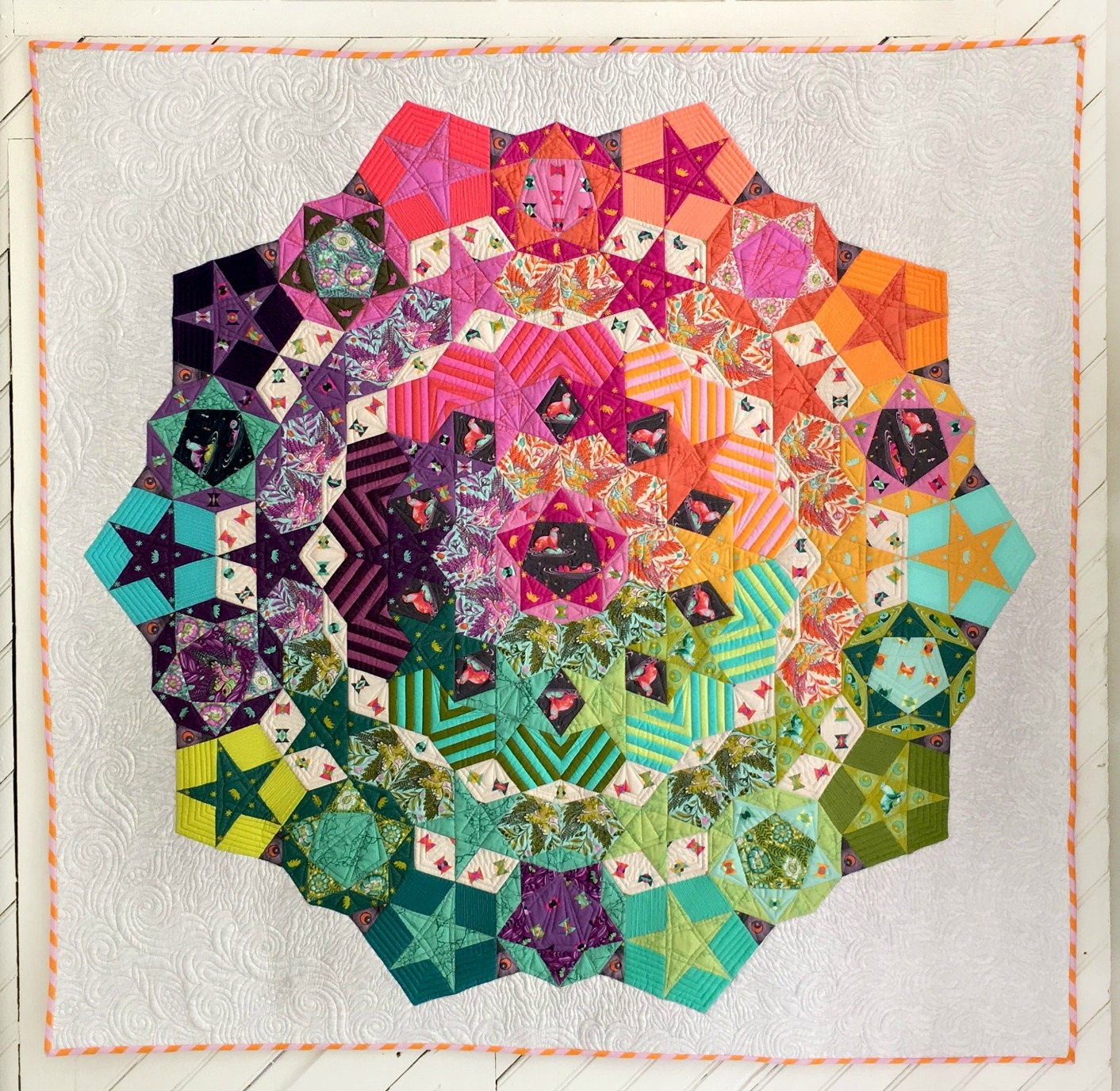 Sale Tula Nova Quilt Pattern Featuring Spirit Animal By