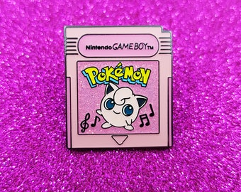 Pokemon Fantasy Cartridge - Jigglypuff Glitter Edition