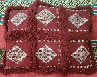 Handmade Moroccan cushion