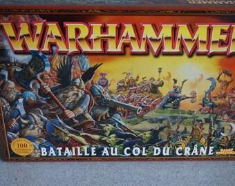Vintage game- Warhammer handmade paint minifigurines/Jeu de mifigurines Warhammer peinturées à la main