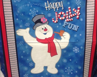 Frosty the Snowman Fabric — Fun with Frosty and Silly Snowman collections from Quilting Treasures (8 Options)
