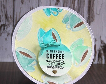 Card for coffee lover
