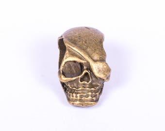 skull 5 beads with antique bronze headband