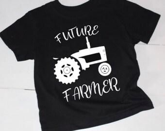 Future Farmer, Farmers, Little Farmer, T-Shirt, Boys T-Shirt