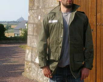 Medium - Vintage S300 French Military Jacket