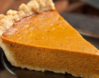 Pumpkin Pie with Spiced Oat Crust- Vegan, Vegetarian, Gluten Free, Sugar Free, Paleo, Clean Eating