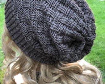 Long beanie-merino cashmere silk yarn