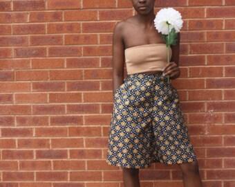 AFRICAN PRINT 'ANKARA' Shorts