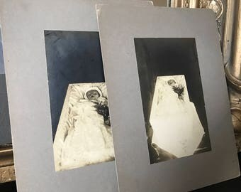 Two beautiful post mortem photographs from 1918