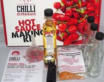 Carolina Reaper Chilli Hot Sauce Making Kit