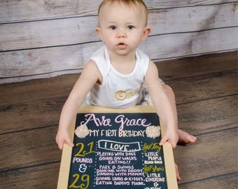 Customized birthday boards