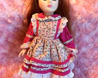 """1970s 11"""" sleepy-eyed Effanbee doll"""