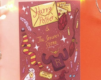 Harry Potter and the Sorcerer's Stone A6 Glicée Print