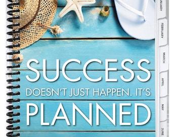 Best Planner Ever- Beach Planner - 2018 Daily Planner, Goal Setting, Mindset Tool, Organizer, Day Planner, Planner 2018