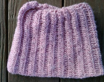 Pink pussy Hat, Women's March, Washington March, Feminism, Girl Power, wool blend, acrylic, blush heather, Resist