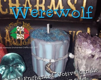 Werewolf ~ Royal Enchanted Votive Candle