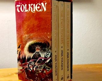 The Written Word: The Lord of the Ring three volume set including by J.R.R Tolkien