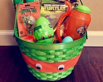 Teenage Mutant Ninja Turtles Easter Basket ONLY