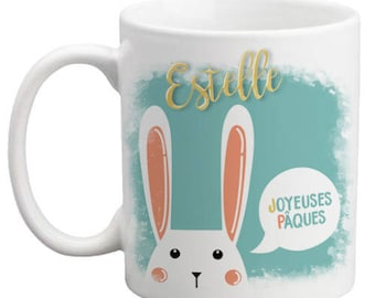 Personalized mug from Easter to fill with chocolates-personalized gift