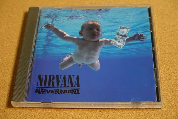 Nevermind by Nirvana Vintage Compact Disc CD