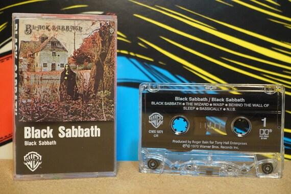 Black Sabbath by Black Sabbath Vintage Cassette Tape