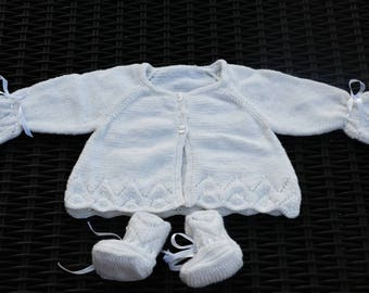 Set Cardigan and booties