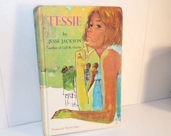 hot deal tessie by jesse jackson vintage 1968 ex library book
