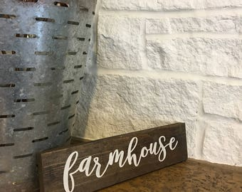 Farmhouse sign, farmhouse decor, fixer upper, rustic decor