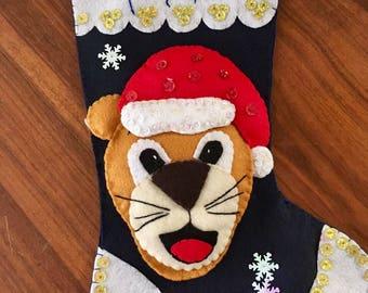 Personalized Christmas Stocking Puma