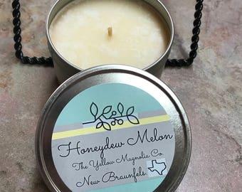 Honeydew Melon Soy Candle